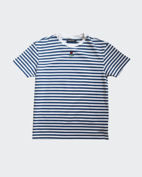 Stranger Society Striped garden t-shirt