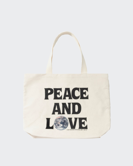 Stussy Peace And Love Tote Bag