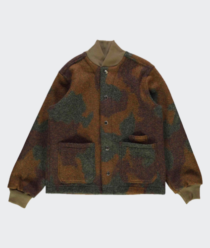 Eat Dust Field Jacket Wool Camo