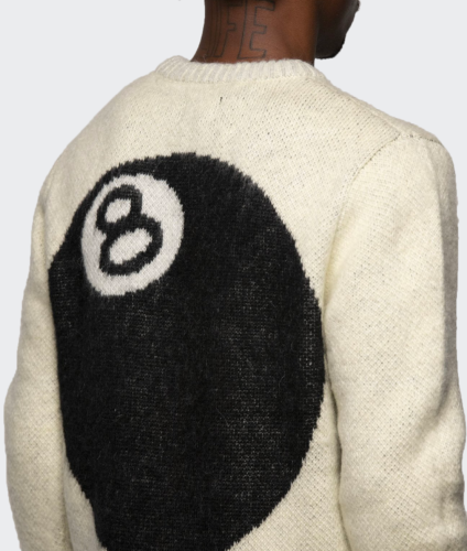 Stussy 8 Ball Heavy Brushed Mohair