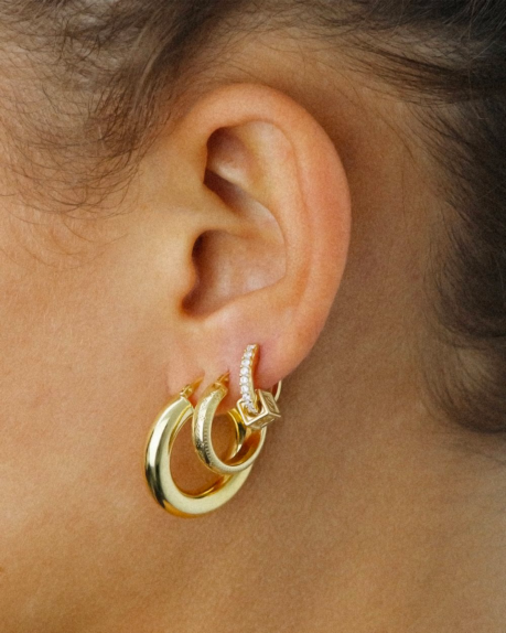 Golia Earrings- Benny Hoop