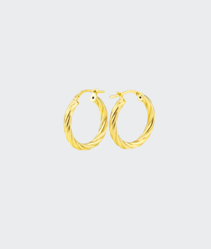 Golia Earrings - Bobby Hoops Medium