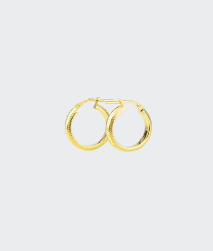 Golia Earrings- Stella Hoops