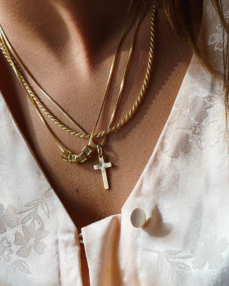 Golia Vintage Cross Necklace