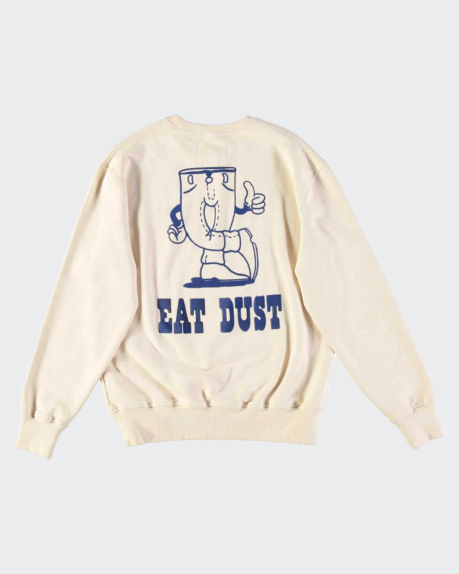 Eat Dust Sweat Dusty Denim Crew