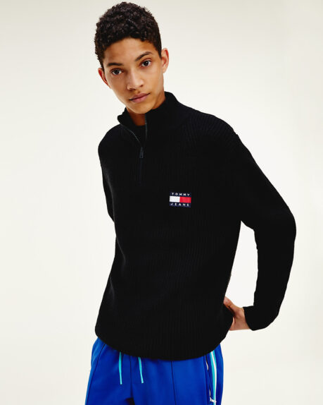 Tommy Jeans Tommy Badge Halfzip Sweater
