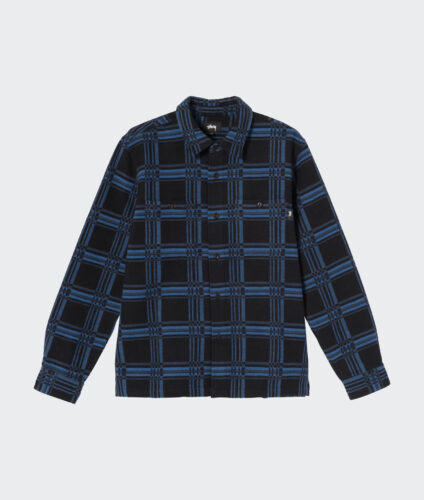 Stussy Langley Plaid LS Shirt