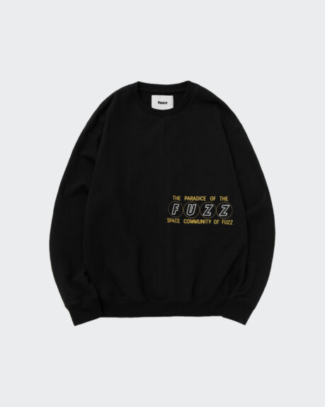 Fuzz Cover Stitch Sweatshirt