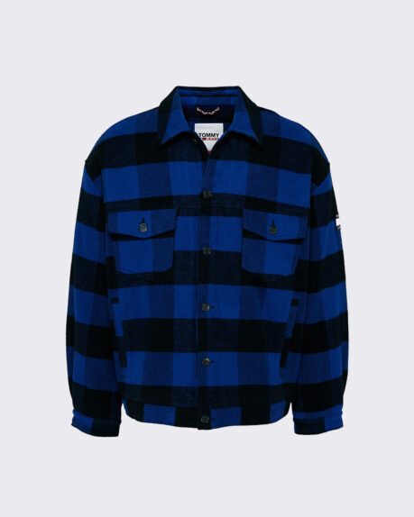 Tommy Jeans Plaid Trucker Jacket
