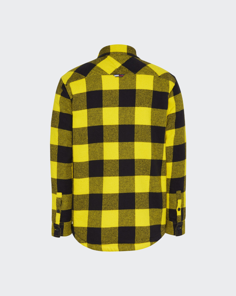 Tommy Jeans Sherpa Flannel Overshirt