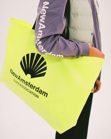 New Amsterdam Surf Association Wetsuit shopper bag