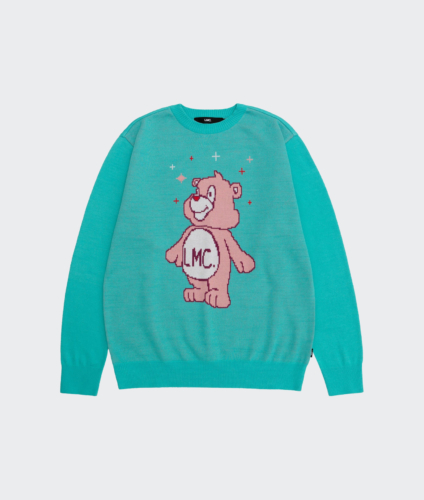 LMC Korea Bear Knit Sweater