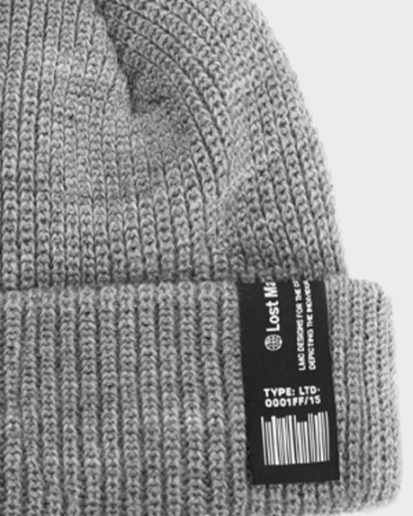 LMC Korea Label Short Beanie