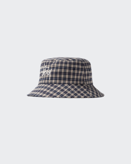 Stussy Basic Plaid Bucket Hat