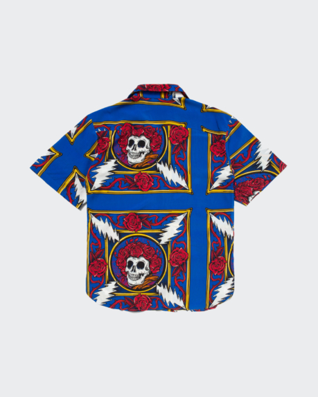 Chinatown Market Border Bandana S/S Button Up