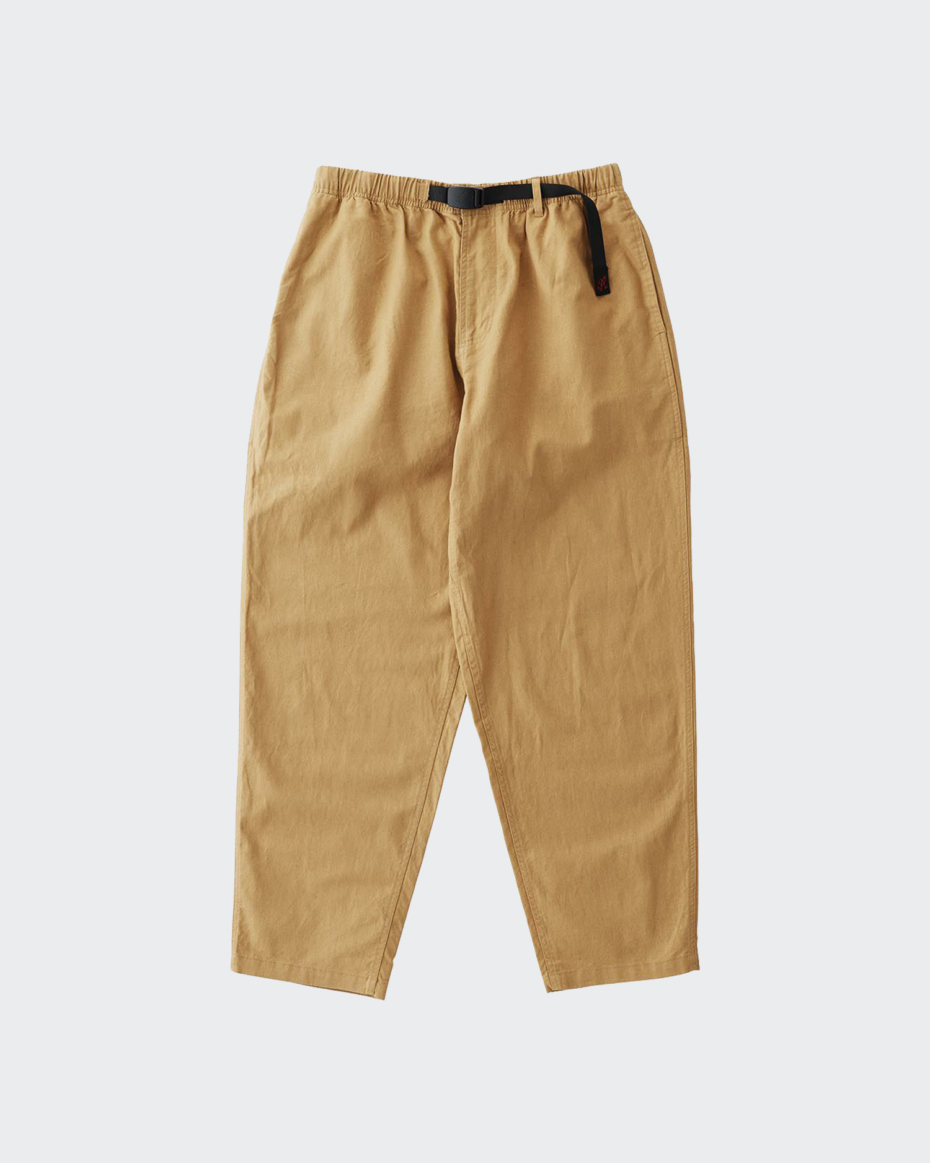 Gramicci Linen Wide Tapered Pants