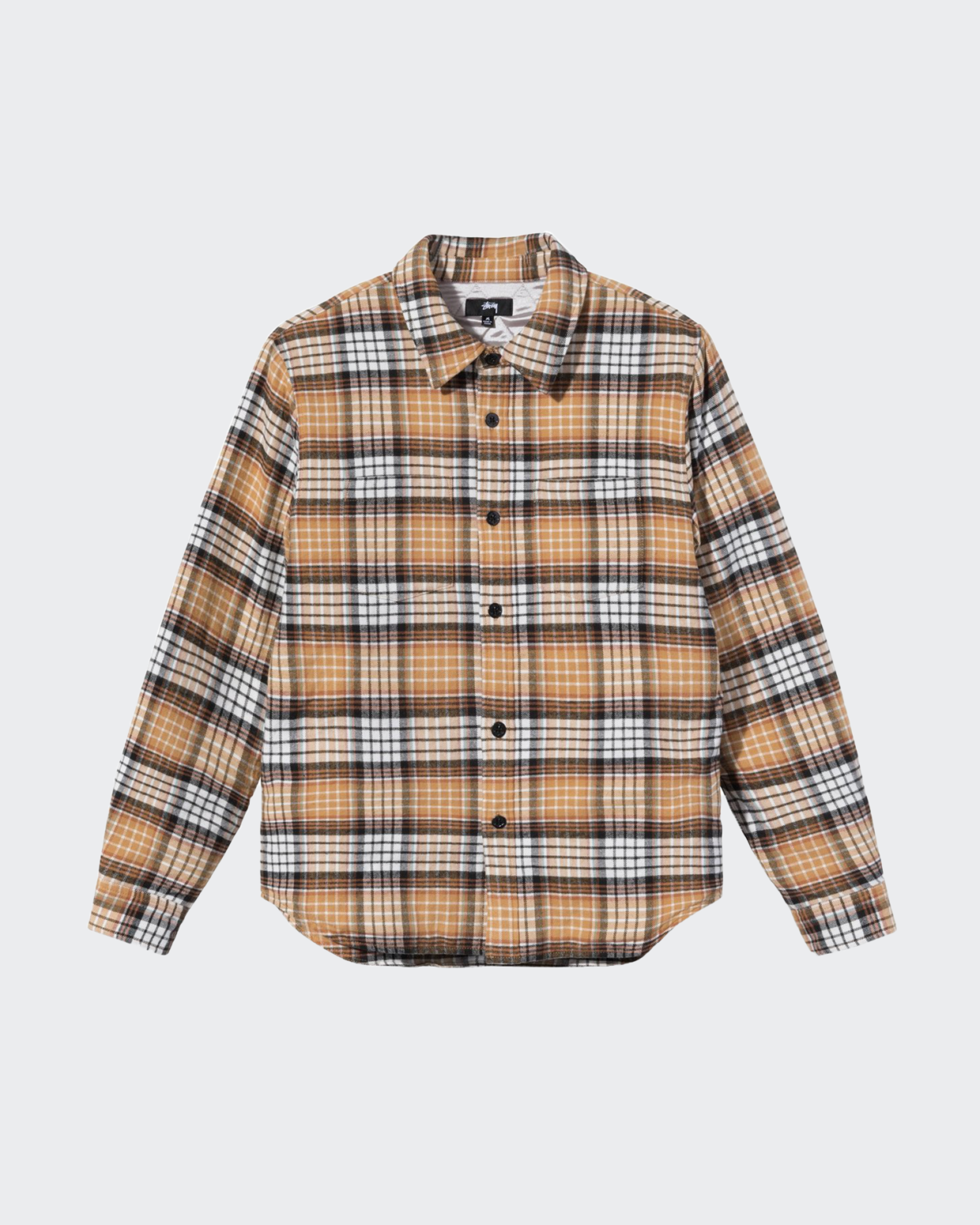 Stussy Quilted Lined Plaid Jacket
