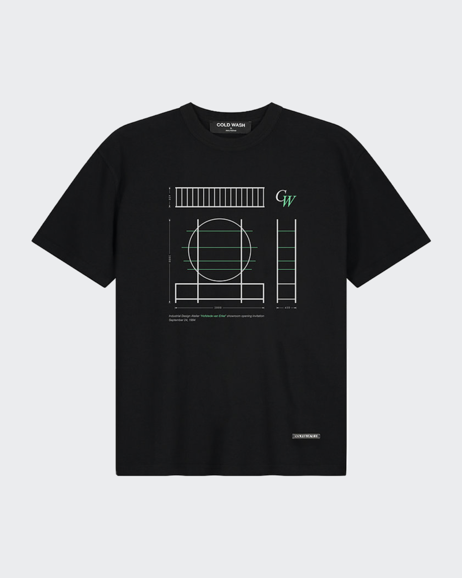 Cold Wash Atelier Opening Invitation Tee