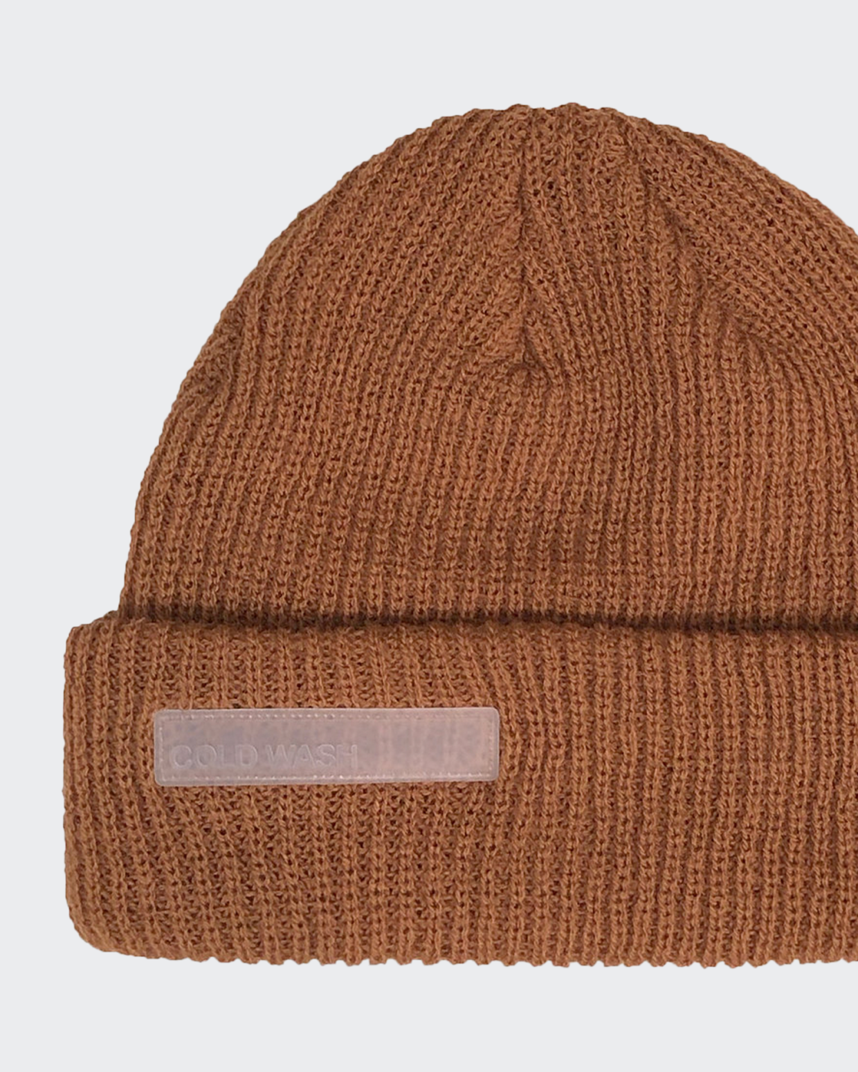 Cold Wash Rubber Patch Beanie