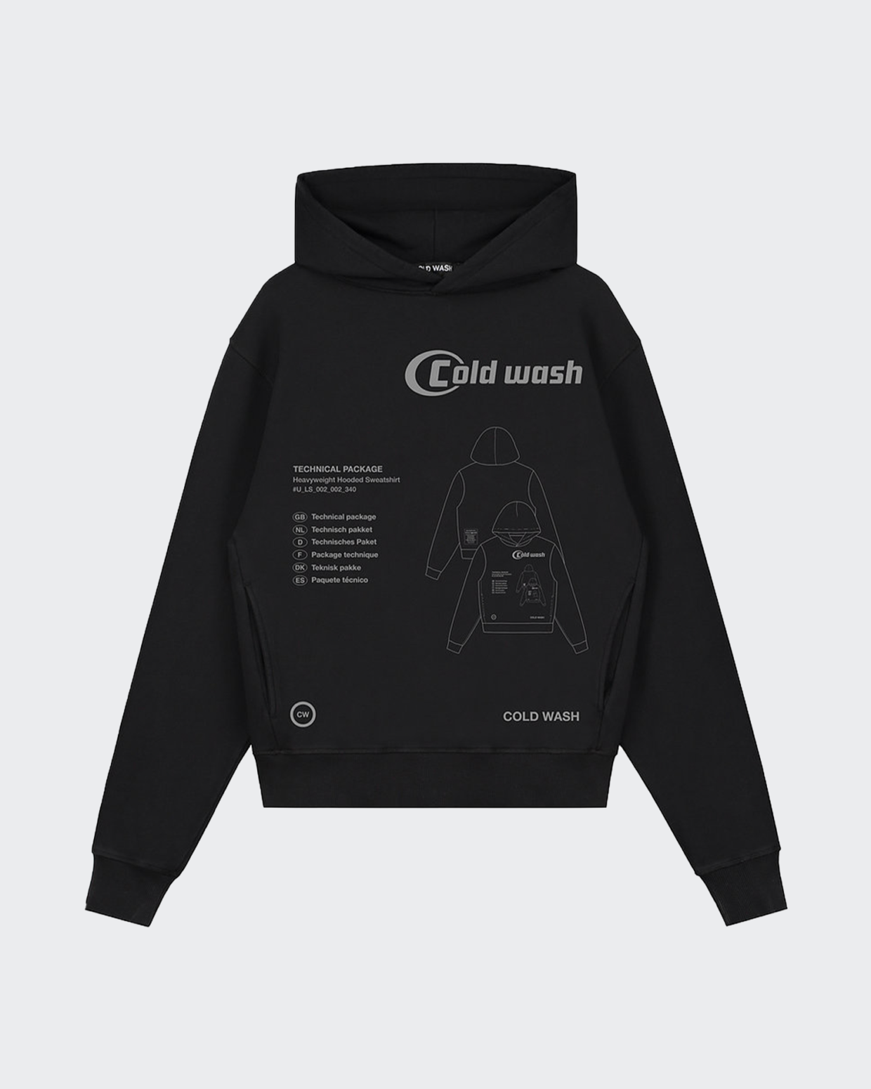 Cold Wash Tech Pack Hooded Sweatshirt